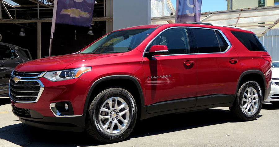 Why The 2018 Chevy Traverse Is Perfect For Off Roading