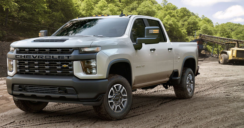 Work Is So Much Easier With a 2020 Silverado HD 2500