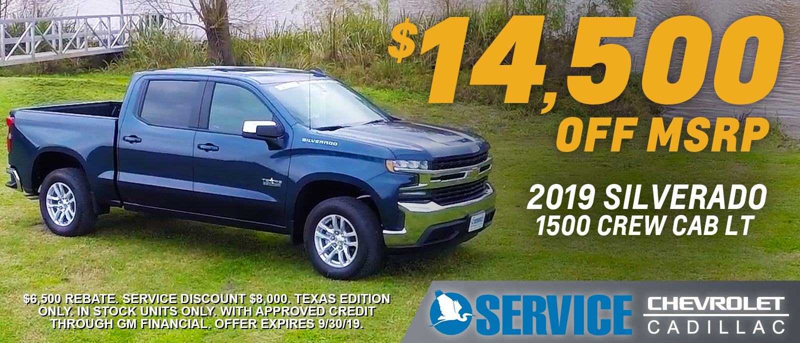 Chevrolet & Cadillac for Sale Lafayette, LA | Service